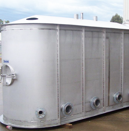 Stainless Steel Mixing Tanks, furphy engineering, stainless steel tanks, pressure vessels, manufacturers, speciality, integrity services, mixing tanks