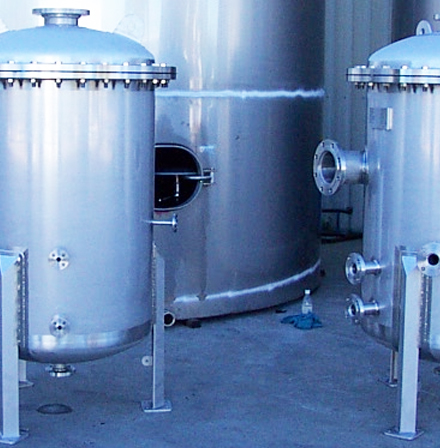 custom designed, manufacturing, heating, stainless steel tank, stainless steel pressure vessels, robotics, engineering