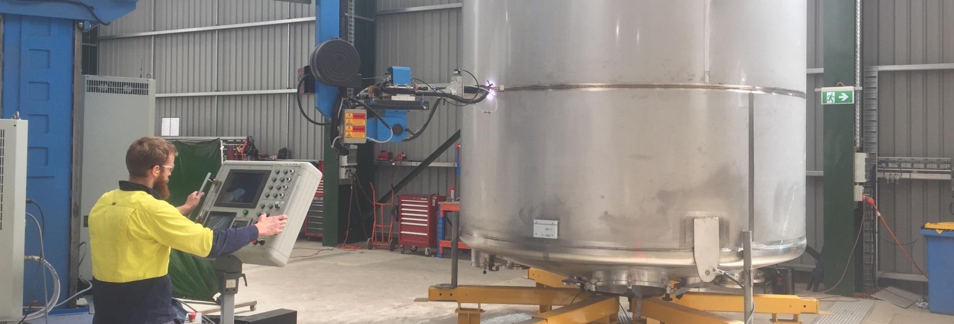 engineering, design, robotics, stainless steel tank, stainless steel pressure vessels